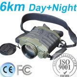 camera van de Thermische Weergave van de Visie van de Nacht van de Lange Waaier van 6km de Handbediende Binoculaire