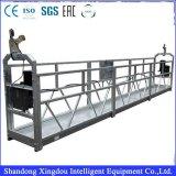 Piattaforma sospesa acciaio funzionante della gondola della gru