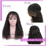 Parrucche indiane reali della parte anteriore del merletto dei capelli umani della parrucca dei capelli delle donne