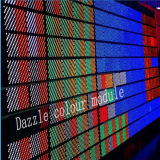 Indicador de diodo emissor de luz da cor SMD/tela internos Único-Cor-de-rosa