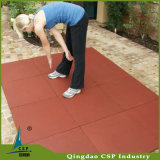 Deslizar-Reistance a telha elevada da borracha do assoalho da ginástica da flexibilidade