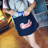 綿織物の文字の女性の女の子のための再使用可能なショッピング・バッグの女性の戦闘状況表示板のハンドバッグの女性本の袋Bolsa Feminina Bolso Mujer