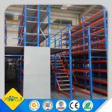 Estante de acero resistente del entresuelo con la plataforma del aumento