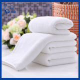 100%年の綿の白いテリータオル(QHWD88905)