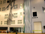Muren van de Verdelingen van het Aluminium van China de Geluiddichte voor Stadion, Opleidingscentrum