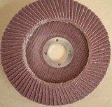 Disco abrasivo da aleta da alumina do Zirconia - disco de lixamento 4 polegadas