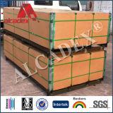Los paneles interiores Paredes plástico decorativo ACP para la Construcción