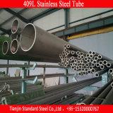 Tube d'acier inoxydable d'AISI 409 pour la tubulure