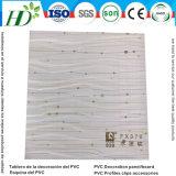 新しいデザインによって薄板にされるPVC天井および壁パネル(RN-78)
