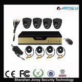 sistema di obbligazione delle macchine fotografiche del CCTV di 4CH DVR