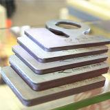 tagliatrice del laser della fibra 500W per il piatto della lamina di metallo