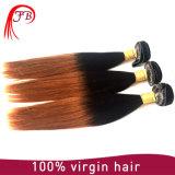 Extensiones puras Hiar brasileño Ombre del pelo humano derecho