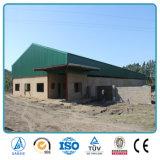 Pequeña estructura de acero prefabricada para el almacén aislado