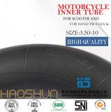Roda de borracha 3.50-6 do carrinho de mão pneumático do pneumático do trole do pneumático do caminhão de mão