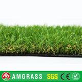 4つのカラーは40mmの景色の庭またはテラスの人工的な草を混合した