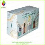 多彩な板紙箱を包む美の化粧品