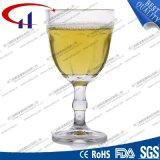 210mlによって刻まれるフリントガラスのワインStemware (CHM8372)