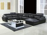 MarnoonカラーU形の本革のソファー(301)