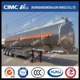 Cimc Huajun 3axle 알루미늄 합금 연료 또는 기름 또는 가솔린 또는 Diesel/LPG 유조선