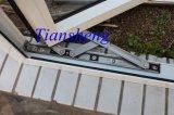 Het poeder bedekte het Witte Openslaand raam van het Aluminium van de Kleur voor Commercieel met een laag en Woon
