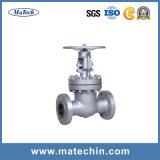 Soupape à vanne motrice Grooved de l'eau de l'acier inoxydable 304 de précision d'OEM