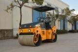 Máquina vibratoria hidráulica llena de la construcción de carreteras de 3 toneladas (JM803H)