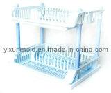 Moldeo por inyección plástico de encargo 2015 del estante de plato del OEM de China