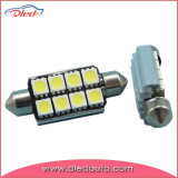 Lampadina luminosa dell'indicatore luminoso LED dell'automobile del festone 5050SMD di C5w 36mm