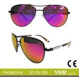 Metallsonnenbrille-Form-Großverkauf-Sonnenbrillen (79-B)
