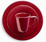 Better Quality Glaze Ceramic Mug Plate Ensemble de dîner avec multicolore