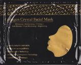 pele elevada da máscara do ouro 24k que aperta a máscara do colagénio