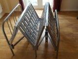 Кровать металла космоса сбережения хорошего качества складывая
