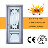 De hoogste Deuren van het Glas van het Aluminium van het Ontwerp Gouden Gelijke (Sc-AAD036)