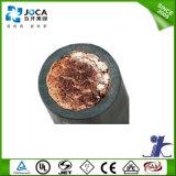 銅線のゴムによって絶縁される黒いNaturealのゴム製適用範囲が広い溶接ケーブル