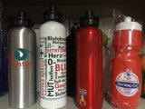 Garrafa de água da forma, garrafa de água do presente, garrafa de água para a promoção