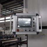 Película Semi automática do PVC de Msfy-1050m Glueless e máquina de estratificação de papel com faca redonda