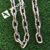 Catena a maglia standard dell'acciaio inossidabile Nacm84/90