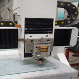 Máquina de estaca de vidro do tamanho pequeno de vidro mínimo da máquina de estaca