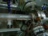 PVC-umsponnene faserverstärkte Schlauch-Strangpresßling-Zeile