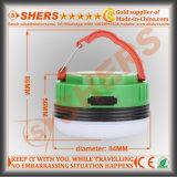 Batteria di litio chiara ricaricabile impermeabile 3.7V4400mAh dell'indicatore luminoso S.O.S. del lavoro di 5W LED