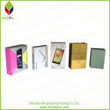 Коробка популярного подарка сотового телефона картона складывая