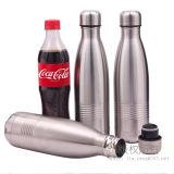 La botella del deporte de la botella de agua del acero inoxidable hincha la botella