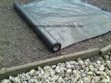 Tela tejida plástico ULTRAVIOLETA anti negro de la cubierta de tierra 90GSM