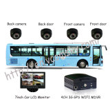 Hot Professional 4CH HDD Autobus scolaire Mobile DVR