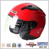 Nuovo casco del motociclo/motocicletta/motorino di Arrivel ECE con la doppia visiera (OP230)