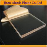 панель плексигласа листа 1850mm x 2450mm прозрачная кристаллический акриловая