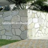 Rusty poco costoso Irregular Paving Random Flagstone Stone per Walkway, Road
