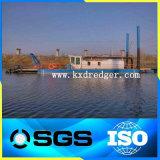 池のDesiltingの浚渫船装置
