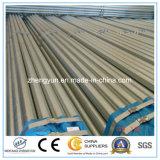 Pipe en acier galvanisée moyenne d'IMMERSION chaude pour la structure