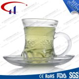 110ml Wholesale super weißes Glaskaffee-Set (CHM8459)